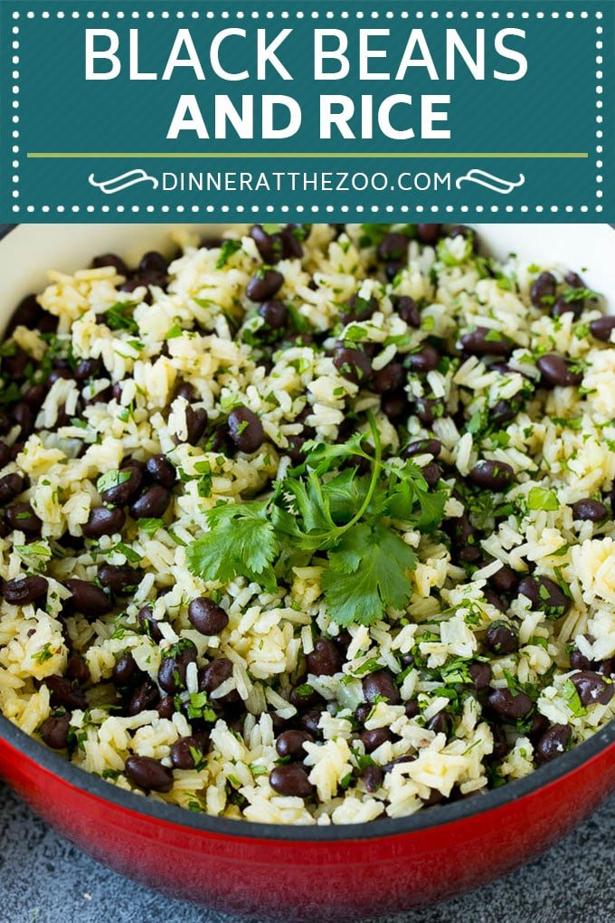 Black Beans and Rice Recipe | Cuban Black Beans | Beans and Rice #beans #rice #blackbeans #sidedish #glutenfree #dinner #dinneratthezoo