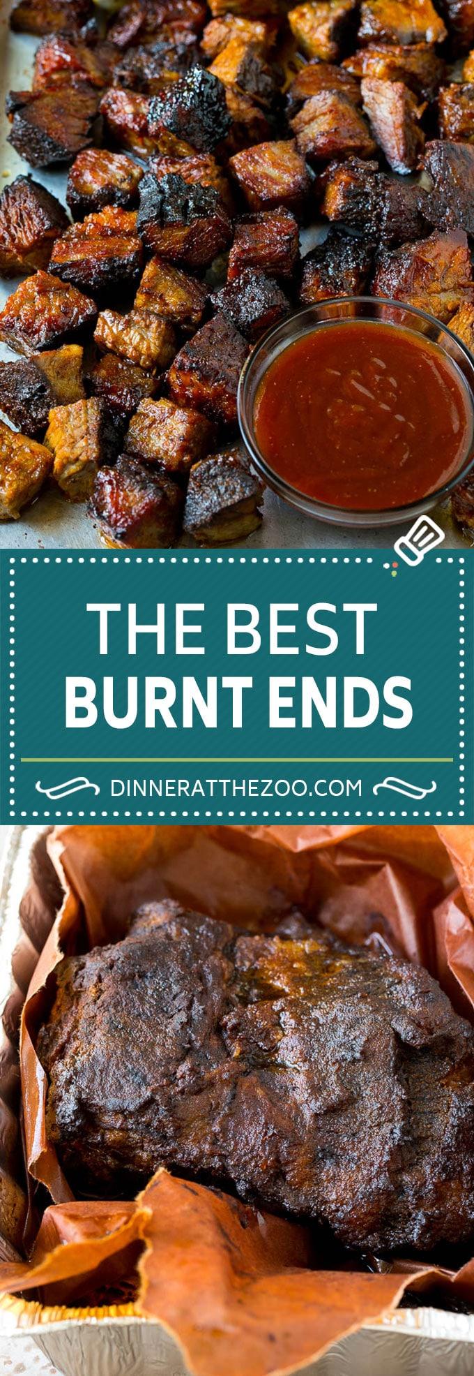 Burnt Ends Recipe | Smoked Brisket | Beef Brisket #brisket #bbq #smoker #beef #dinner #dinneratthezoo
