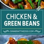 Chicken and Green Beans Recipe | Chicken and Green Bean Stir Fry | Chicken Stir Fry #chicken #greenbeans #healthy #stirfry #cleaneating #dinner #dinneratthezoo