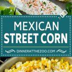 Mexican Street Corn Recipe | Elote Corn | Mexican Corn on the Cob #corn #sidedish #summer #cheese #grilling #dinner #dinneratthezoo