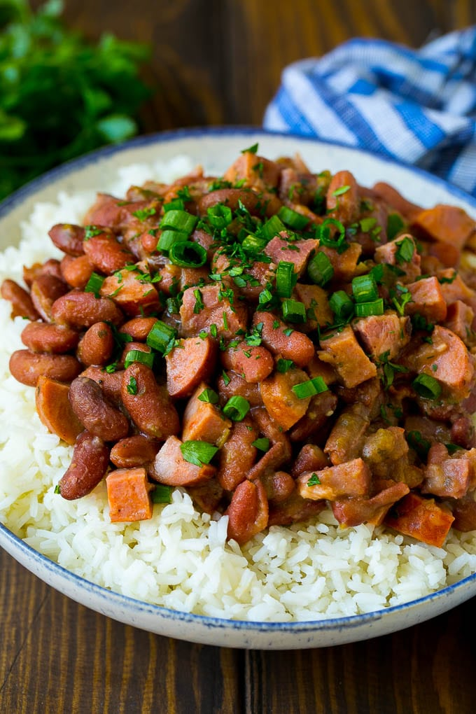 Red Beans And Rice Recipe Dinner At The Zoo