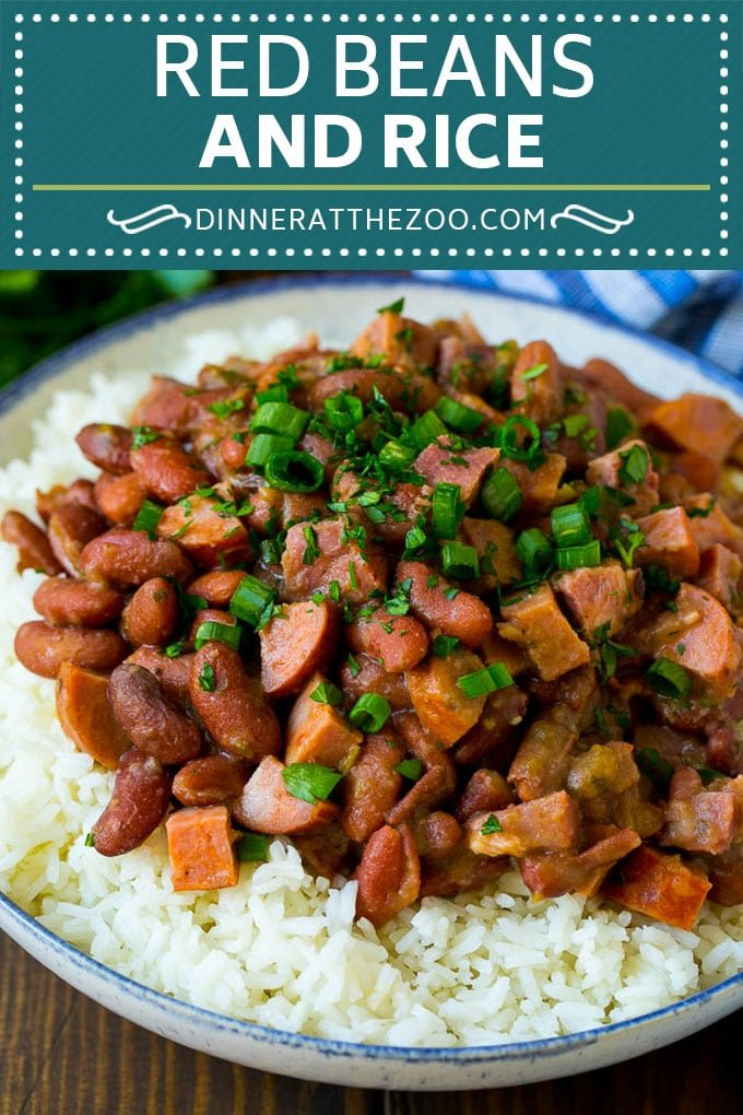 Red Beans and Rice Recipe | Red Beans and Sausage | Cajun Red Beans #beans #rice #sausage #ham #cajun #dinner #dinneratthezoo