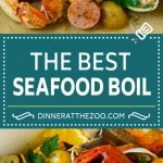 Seafood Boil Recipe | Shrimp Boil #lobster #shrimp #clams #crab #sausage #corn #potatoes #dinner #dinneratthezoo
