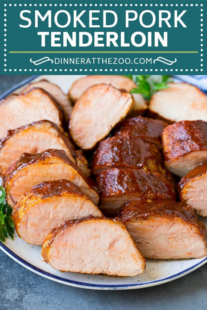 Smoked Pork Tenderloin Recipe | Smoked Pork Loin | BBQ Pork #pork #tenderloin #smoker #dinner #dinneratthezoo