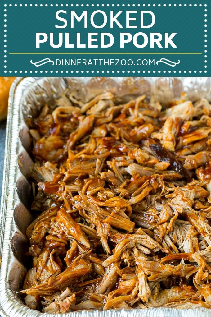 Smoked Pulled Pork Recipe | Smoked Pork Shoulder #smoker #pork #pulledpork #dinner #dinneratthezoo