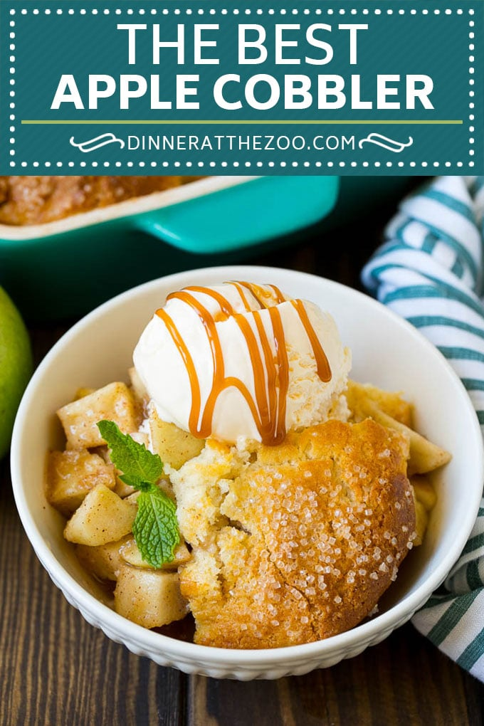 Apple Cobbler Recipe | Apple Dessert #apples #cobbler #dessert #baking #fall #dinneratthezoo
