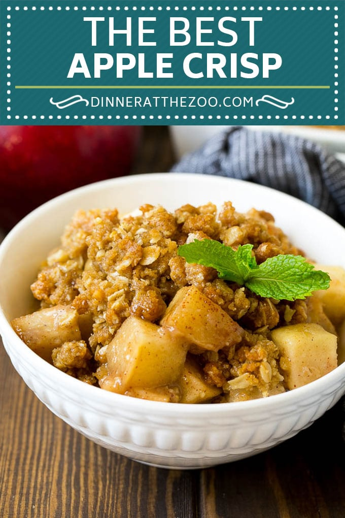 Apple Crisp Recipe | Apple Dessert #apples #dessert #baking #fall #dinneratthezoo
