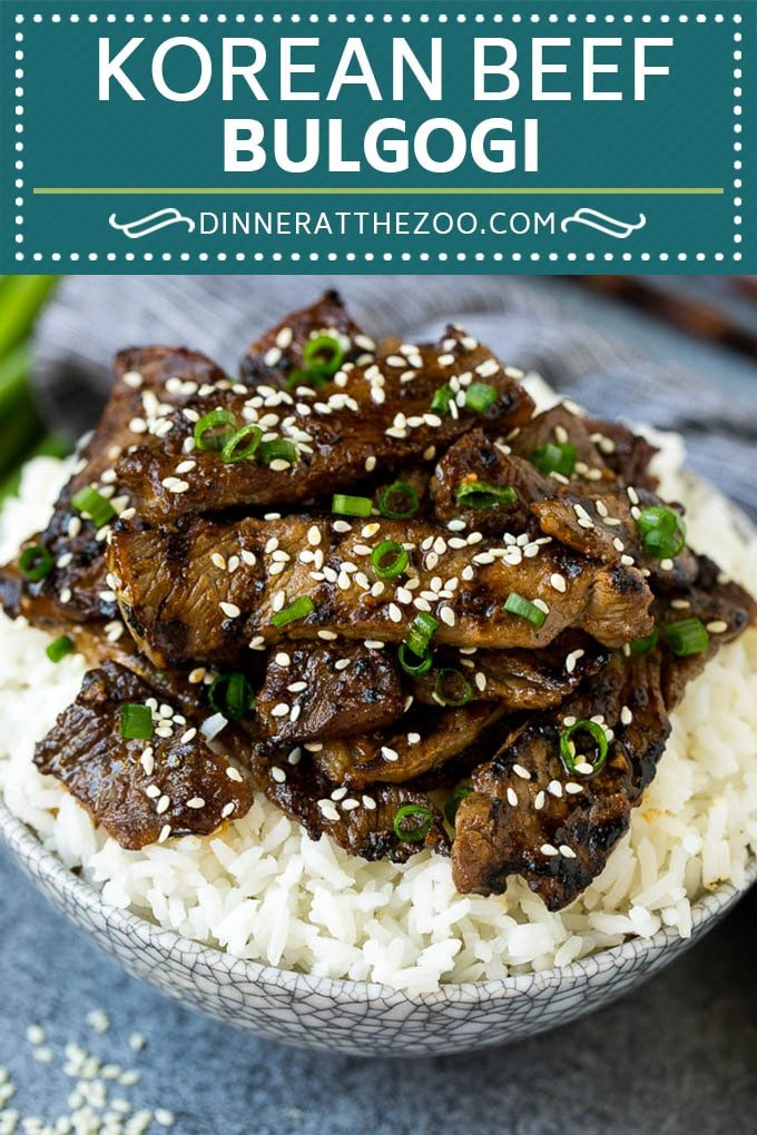 Beef Bulgogi Recipe | Korean BBQ #beef #koreanfood #grilling #steak #dinner #dinneratthezoo