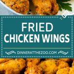 Fried Chicken Wings Recipe | Chicken Wings #chicken #chickenwings #appetizer #snack #dinner #dinneratthezoo