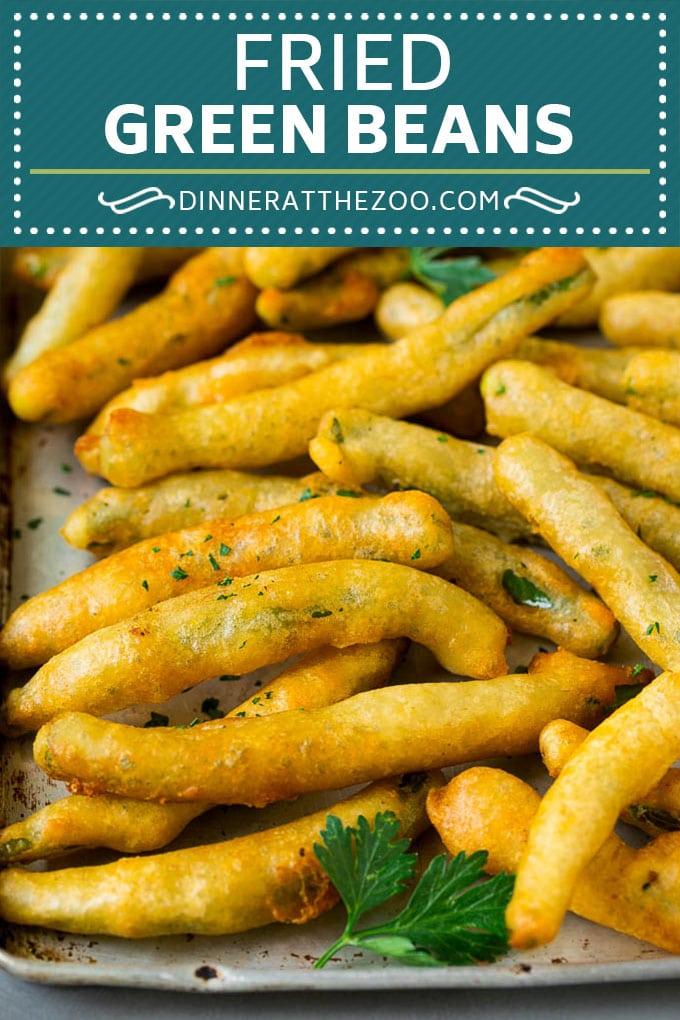 Fried Green Beans Recipe | Green Beans #greenbeans #appetizer #snack #dinneratthezoo