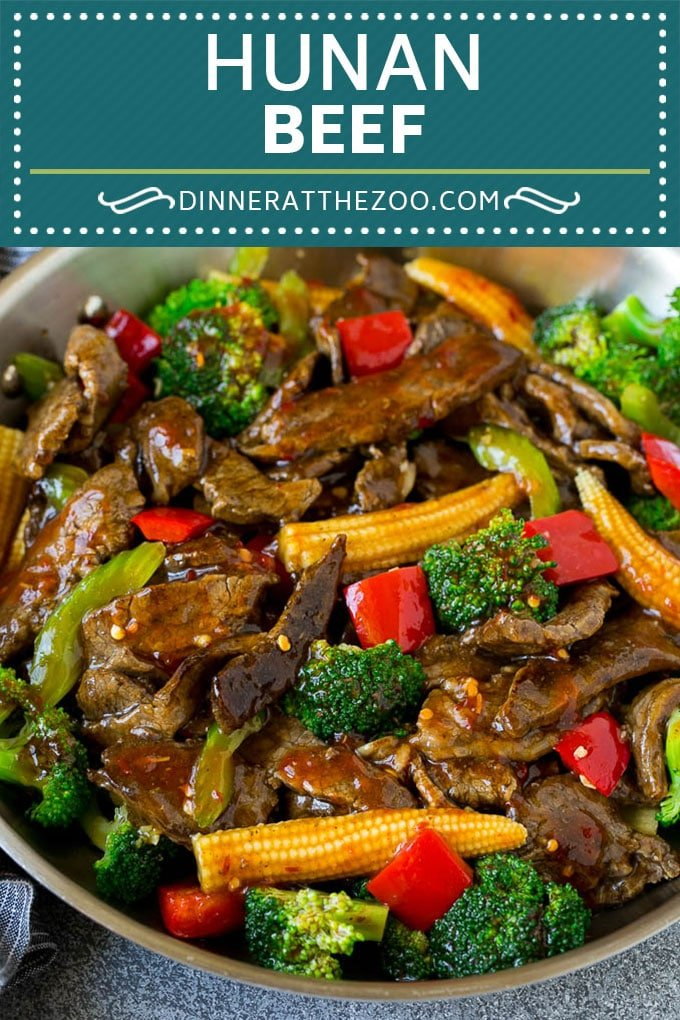 Hunan Beef Recipe | Beef Stir Fry #beef #stirfry #dinner #broccoli #dinneratthezoo