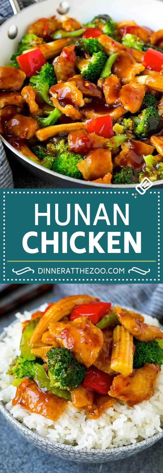 Hunan Chicken Recipe | Chicken Stir Fry | Spicy Chicken #chicken #stirfry #broccoli #dinner #spicy #dinneratthezoo