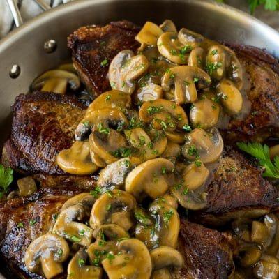 Mushroom Steak Sauce