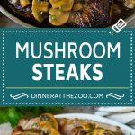Mushroom Steak Sauce Recipe #mushrooms #steak #beef #dinner #dinneratthezoo