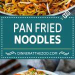 Pan Fried Noodles | Noodle Stir Fry #vegetarian #noodles #stirfry #veggies #dinner #dinneratthezoo