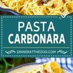 Pasta Carbonara Recipe | Bacon Pasta #pasta #bacon #cheese #dinner #dinneratthezoo