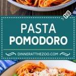 Pasta Pomodoro Recipe   Spaghetti Recipe   Homemade Tomato Sauce #pasta #spaghetti #tomatoes #basil #italianfood #dinner #dinneratthezoo
