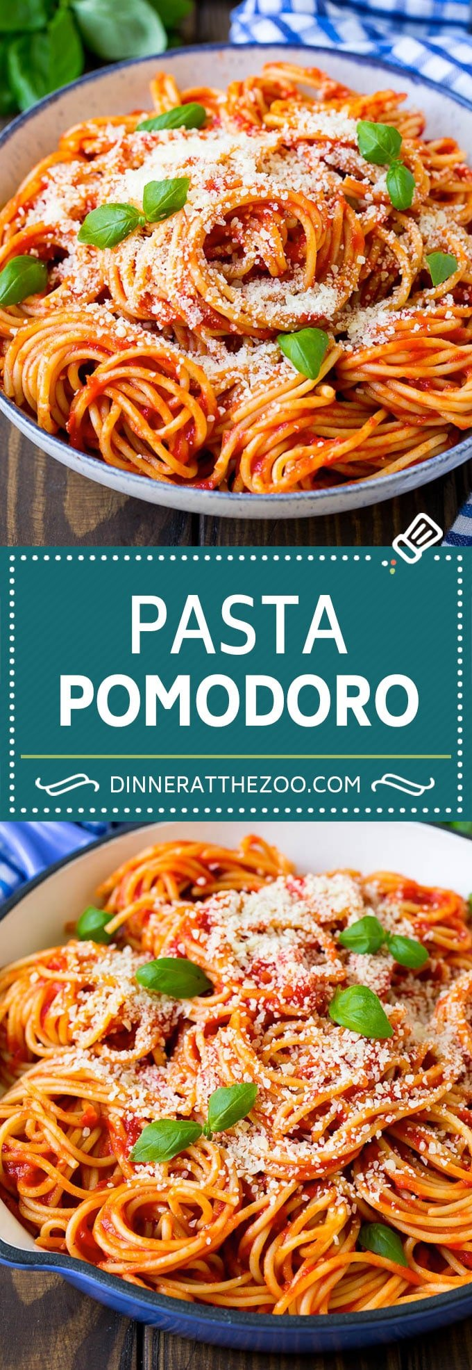 Pasta Pomodoro Recipe | Spaghetti Recipe | Homemade Tomato Sauce #pasta #spaghetti #tomatoes #basil #italianfood #dinner #dinneratthezoo