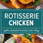 Rotisserie Chicken Recipe | Roasted Chicken #chicken #dinner #dinneratthezoo #comfortfood