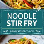 Stir Fry Noodles Recipe | Noodle Stir Fry #chiken #noodles #stirfry #mushrooms #diinner #dinneratthezoo