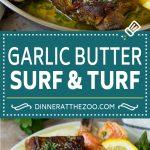 Surf and Turf Recipe | Seared Steak #steak #shrimp #keto #lowcarb #dinner #dinneratthezoo