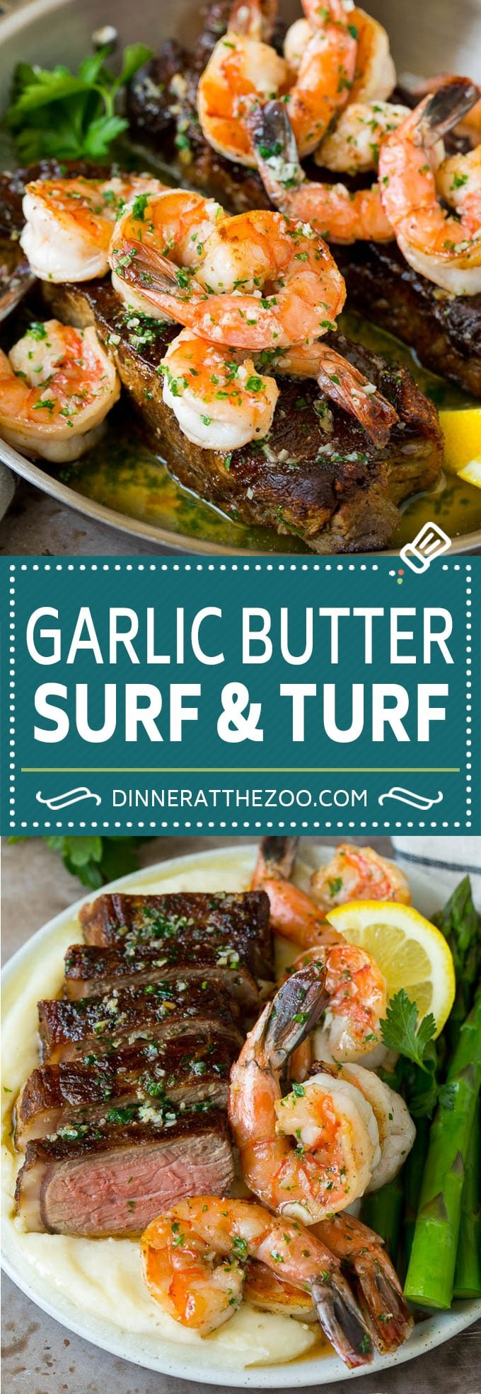 Surf and Turf Recipe | Seared Steak #steak #shrimp #keto #lowcarb #dinner #dinneratthezoo