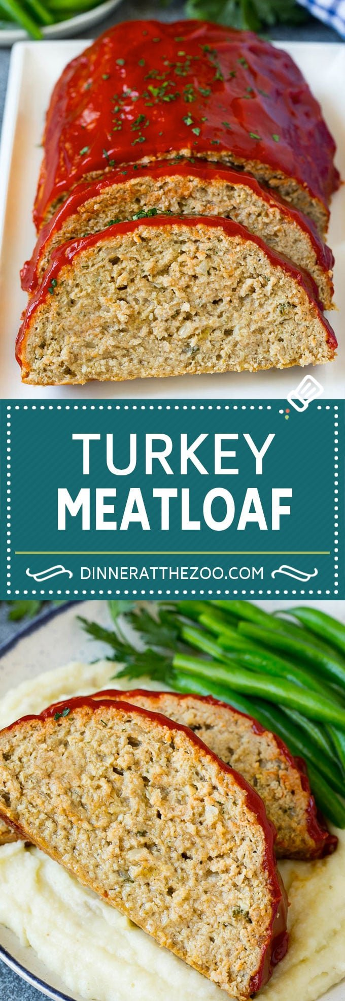 Turkey Meatloaf Recipe | Healthy Meatloaf #meatloaf #turkey #dinner #dinneratthezoo