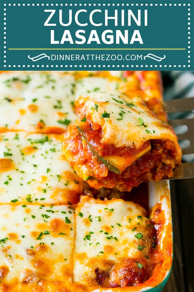 Zucchini Lasagna | Low Carb Lasagna #zucchini #lasagna #lowcarb #groundbeef #dinner #dinneratthezoo