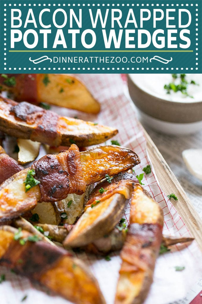 Bacon Wrapped Potato Wedges Recipe | Best Potato Wedges | Bacon Wrapped French Fries | Bacon Potato Wedges #bacon #potato #fries #dinner #dinneratthezoo