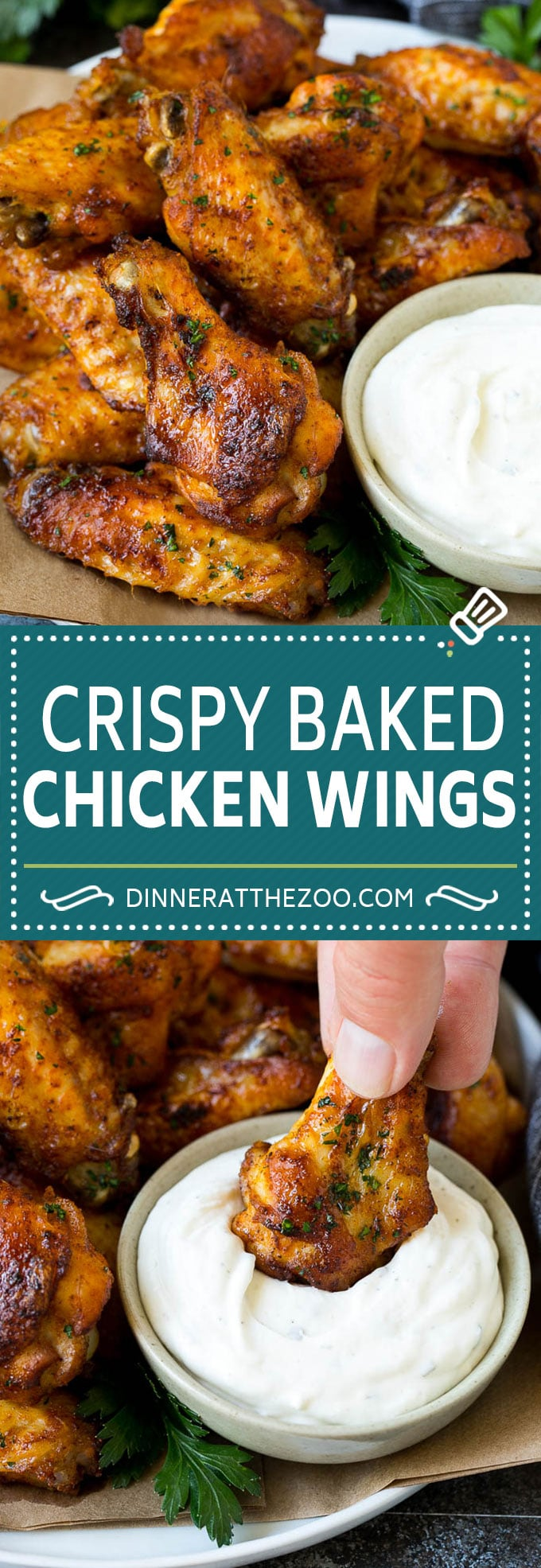 Baked Chicken Wings Recipe   Roasted Chicken Wings #chicken #chickenwings #appetizer #snack #dinner #dinneratthezoo