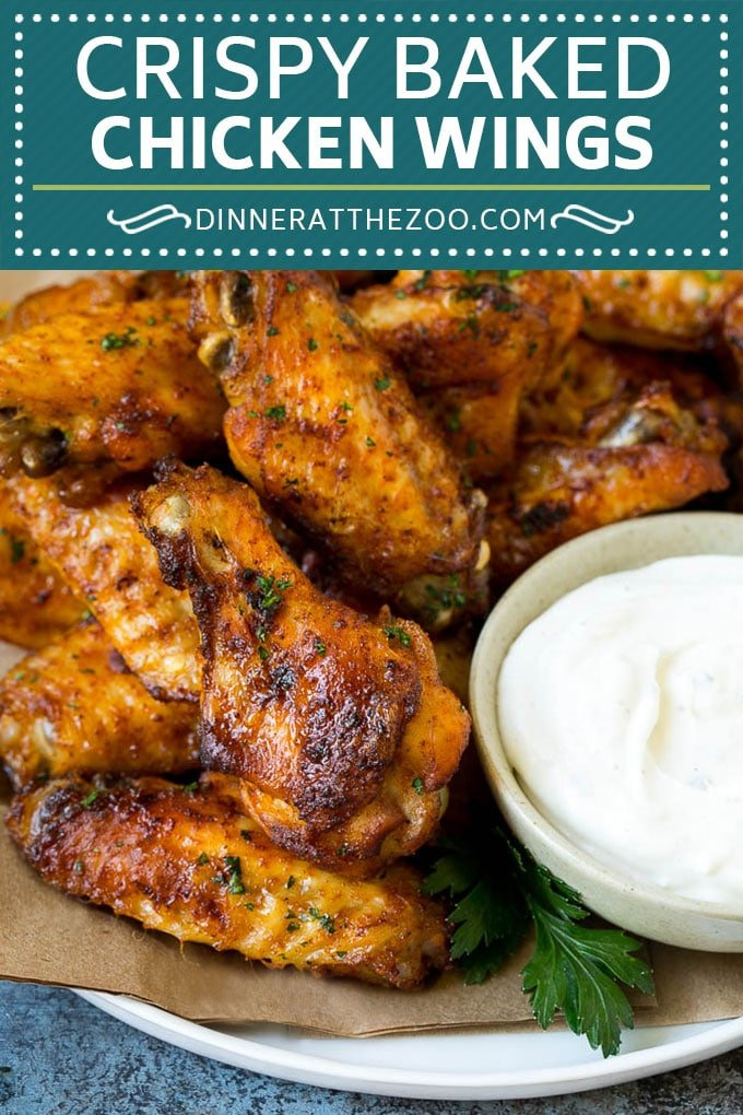 Baked Chicken Wings Recipe | Roasted Chicken Wings #chicken #chickenwings #appetizer #snack #dinner #dinneratthezoo
