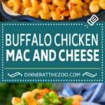Buffalo Chicken Mac and Cheese Recipe   Spicy Macaroni and Cheese #chicken #buffalochicken #macandcheese #cheese #dinner #pasta #dinneratthezoo