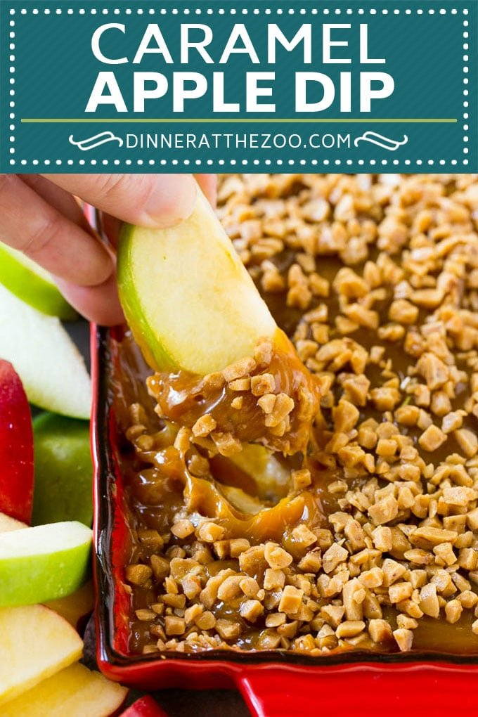 Caramel Apple Dip Recipe | Dessert Dip Recipe | Apple Recipe | Caramel Apple Recipe #caramel #apples #dip #fall #dessert #dinneratthezoo