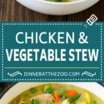 Chicken Stew Recipe | Chicken and Vegetable Soup #stew #soup #chicken #potatoes #comfortfood #dinner #dinneratthezoo