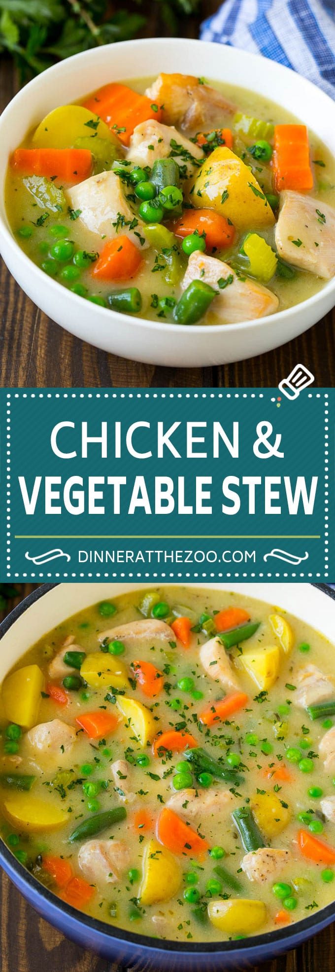 Chicken Stew Recipe | Chicken and Vegetable Soup #stew #soup #chicken #potatoes #comfortfood #dinner #dinneratthezoo