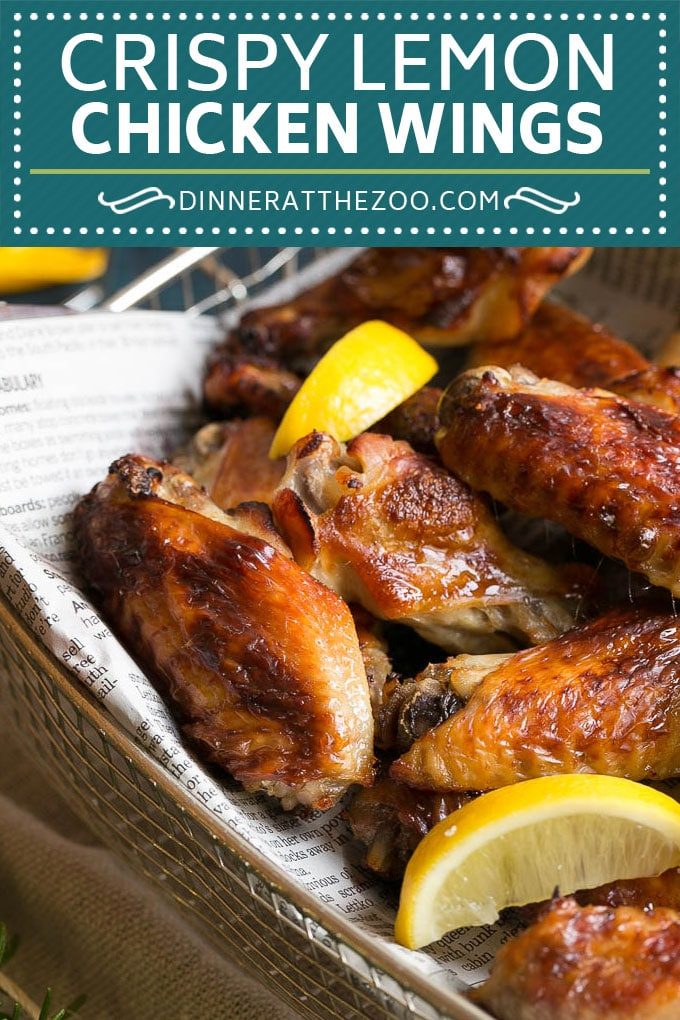 Lemon Chicken Wings Recipe | Baked Chicken Wings #chicken #chickenwings #lemon #appetizer #dinner #dinneratthezoo