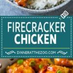 Firecracker Chicken Recipe | Asian Chicken | Spicy Chicken Recipe #chicken #stirfry #dinner #dinneratthezoo