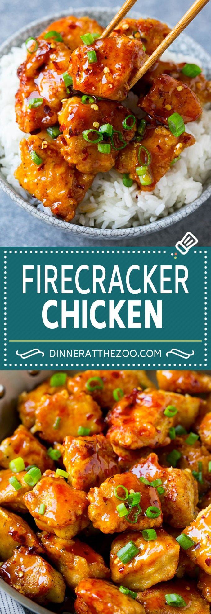 Firecracker Chicken Recipe | Asian Chicken | Spicy Chicken Recipe #chicken #stirfry #dinner #dinneratthezoo