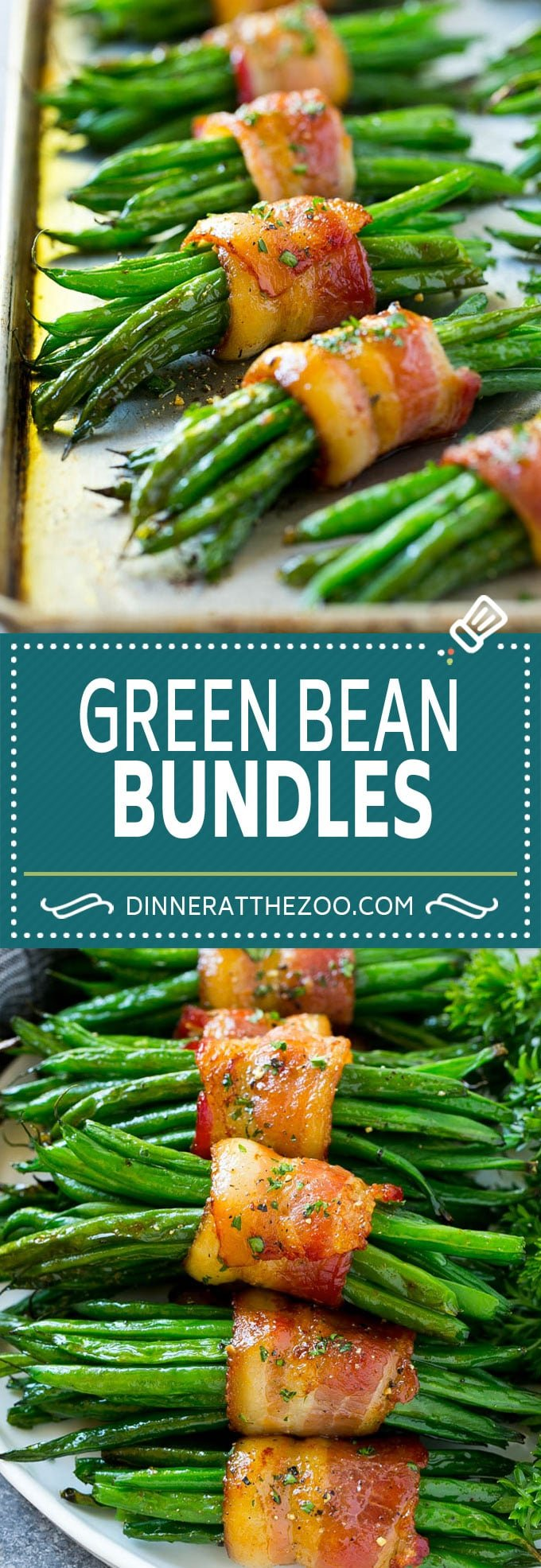Green Bean Bundles Recipe | Bacon Wrapped Green Beans | Green Beans with Bacon | Green Beans Recipe #bacon #greenbeans #sidedish #dinner #dinneratthezoo