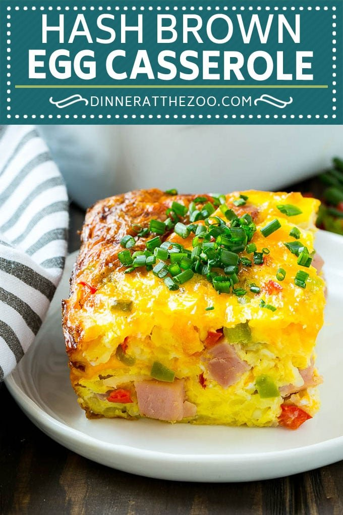 Hash Brown Egg Casserole Dinner At The Zoo