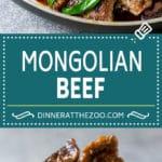 Mongolian Beef Recipe | Asian Beef Recipe | Beef Stir Fry #beef #chinesefood #stirfry #dinner #dinneratthezoo