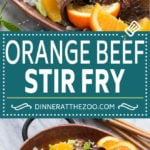 Orange Beef Stir Fry Recipe | Beef Stir Fry #orange #beef #stirfry #dinner #dinneratthezoo