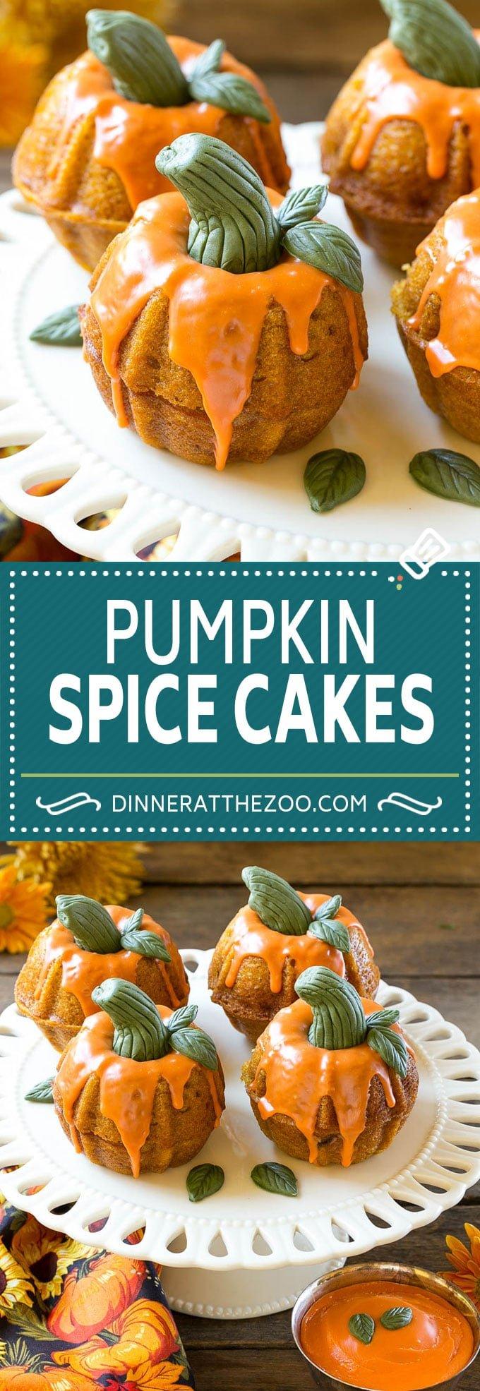 Pumpkin Spice Cake Recipe | Pumpkin Cake #pumpkin #cake #fall #thanksgiving #dessert #dinneratthezoo