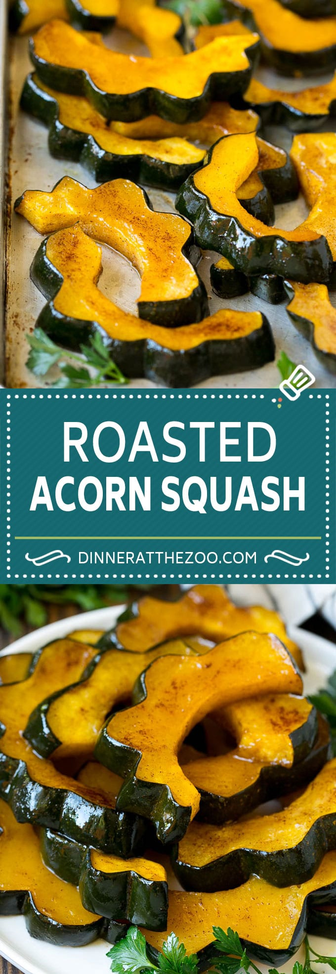Roasted Acorn Squash | Acorn Squash Recipe #squash #winter #sidedish #dinner #dinneratthezoo