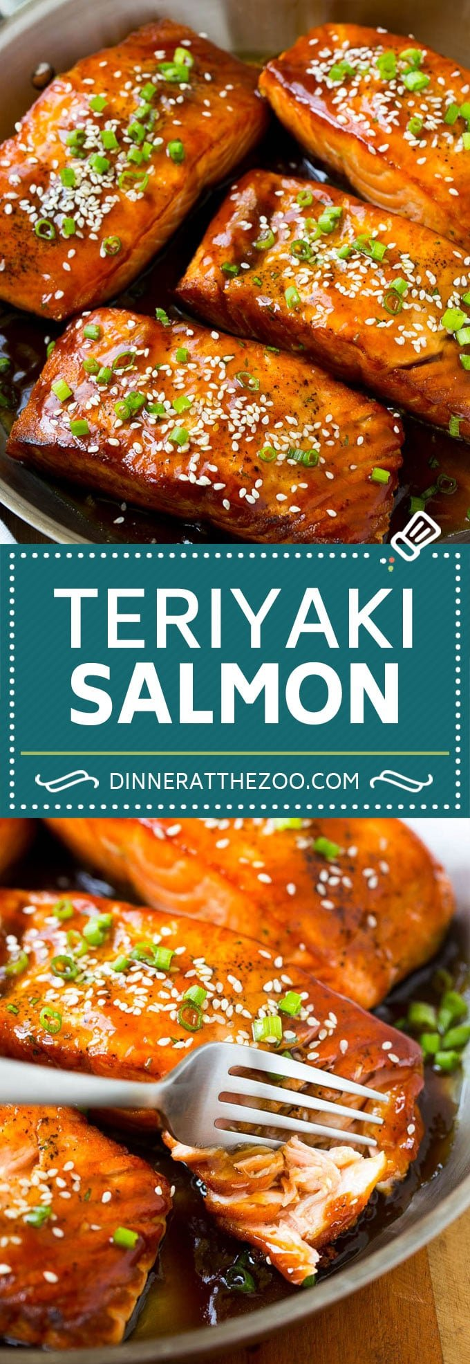 Salmon Teriyaki Recipe | Easy Salmon Recipe | Asian Salmon #salmon #fish #dinner #healthy #dinneratthezoo