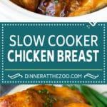Slow Cooker Chicken Breast Recipe | Crock Pot Chicken Breast | Chicken and Gravy #chicken #slowcooker #crockpot #gravy #dinner #dinneratthezoo