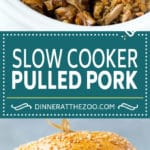 Slow Cooker Pulled Pork Sandwiches Recipe | Slow Cooker Pulled Pork | Crockpot Pulled Pork | Slow Cooker Sandwich #pork #slowcooker #crockpot #sandwich #dinner #dinneratthezoo