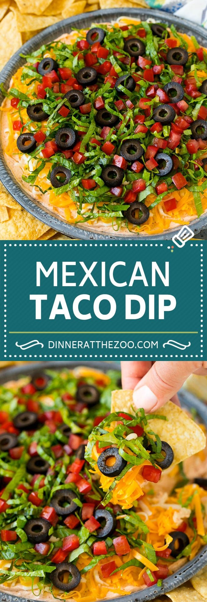 Taco Dip Recipe Dinner At The Zoo
