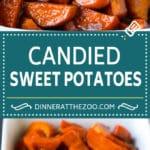 Candied Sweet Potatoes Recipe | Candied Yams #sweetpotatoes #yams #sidedish #dinner #fall #thanksgiving #dinneratthezoo
