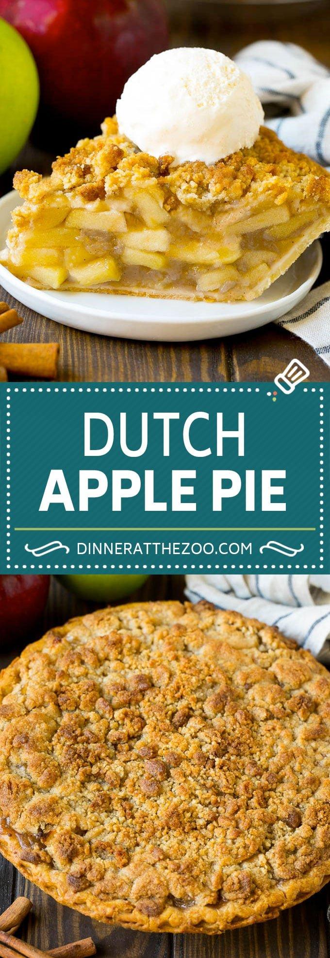 Dutch Apple Pie Recipe | Homemade Apple Pie #pie #apple #dessert #baking #fall #dinneratthezoo